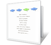 Step into Your Future graduation printable cards