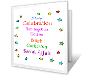 You're Invited night out printable cards