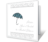 You're Invited bridal shower printable cards