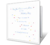 Sharing a Lifetime wedding printable cards