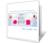 A Wish for Your Happiness wedding printable cards