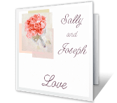May Love Make You Happy wedding printable cards
