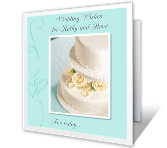 Wedding Wishes wedding printable cards