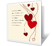 I'm So Happy<br>We're Together valentines day printable cards