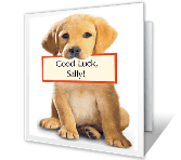 You'll Do Great! good luck printable cards