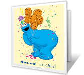 Super-Yummy Birthday happy birthday printable cards