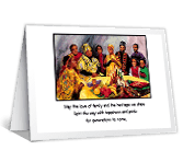 Joy to You! kwanzaa printable cards