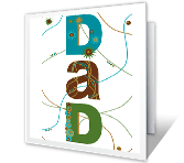 Father's Day Printable Cards - Best Dad-Anyone Could Ever Have