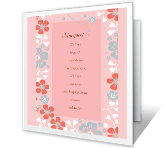 On Our Anniversary happy anniversary printable cards