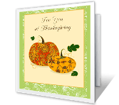 Joys of the Season thanksgiving printable cards