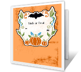 All About the Thrills halloween printable cards