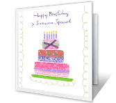 Everything About You happy birthday printable cards