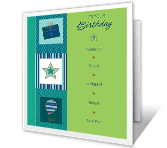 Lasting Celebration happy birthday printable cards