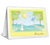 Sunny Wishes easter printable cards