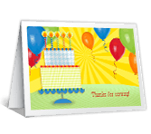 Life of the Party thanks for the gift printable cards