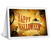 Halloween Hi printable halloween card