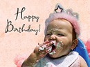 Indulge Yourself<br>Postcard Birthday Postcards