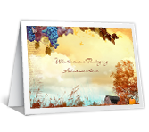 Thanksgiving Printable Cards - Across the Miles