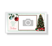 Smiles and Laughter <br> 4 x 8 photo card christmas printable cards