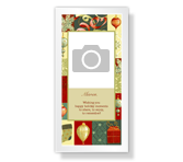 Moments to Share<br>4 x 8 Photo Card christmas printable cards