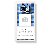 New Baby Boy<br>4 x 8 photo card birth announcement printable cards