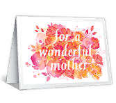 Happy Wishes mothers day printable cards