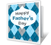 Celebrate in Style father's day printable cards