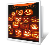 Sweet and Spooky printable halloween card