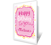 All the Best happy birthday printable cards