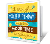 Everything I Like<br>About You happy birthday printable cards