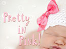 Pretty in Pink<br>Postcard Baby eCards