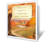 Close in Heart printable thanksgiving card