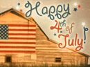 Happy 4th<br>Postcard Independence Day eCards