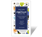 Spooktacular Party<br>Invitation halloween printable cards
