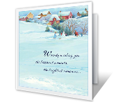 A Season of Joy printable christmas card