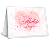 Celebrating You printable mothers day card