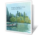 To My Husband My Dream Come True printable fathers day card