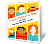 You've Got It All father's day printable cards