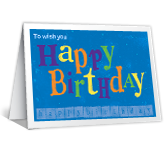 Happy Birthday Printable Cards - A Very Good Year