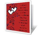 Valentine's Day Printable Cards - Just About Us