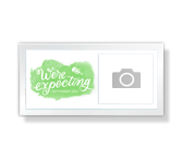 We're Expecting - 4 x 8 Photo Card