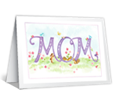 Honoring Mom greeting card