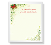 A Christmas Letter printable card