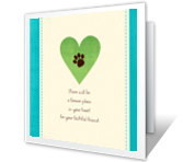 A Forever Place printable card