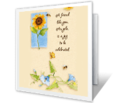 A Friend Like You greeting card