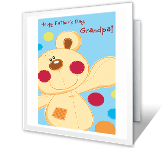 A Grandpa as Nice as You printable card