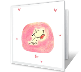 A Lucky Dog's Tale greeting card