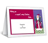 A Magical Christmas Add-a-Photo greeting card
