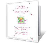 A Mother's Day Wish for You printable card