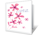 A Simple Wish greeting card